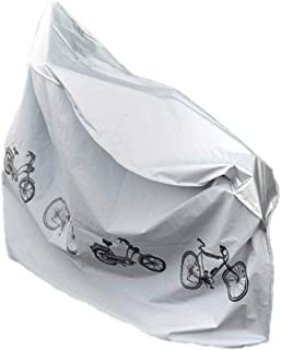 MorNon 2Pcs Lona de Bicicleta Cubierta de Protección de Bicicletas Funda de Lluvia para Bicicleta al Aire Libre Funda Profesional para Bicicletas para Guardar Bicicletas al Aire Libre 200CM x 110CM