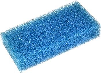 R&J Enterprises R&J Fusion Acrylic Tank Replacement Sponges  Blue Filter Sponge 8x3 1  Thick