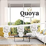 Quoya Smart Curtain Track- Wave Curtain Set