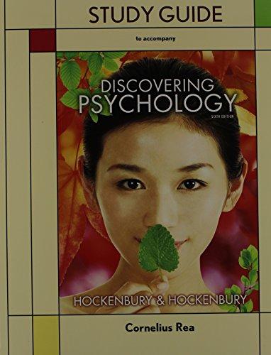 Discovering Psychology (Loose Leaf), Study Guide, & 3-D Brain Model