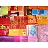 Hans-Textil-Shop Stoffpaket 5 kg Baumwolle Mako Satin  