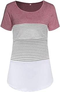 LaClef Mutterschafts T-Shirt f/ür Frauen