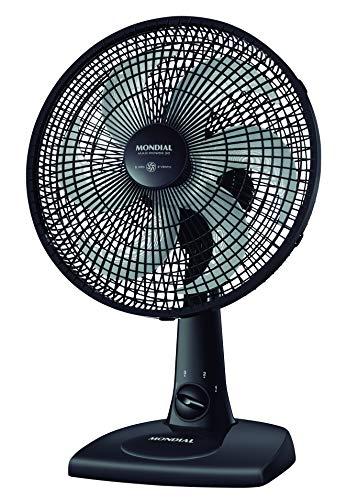 Ventilador Mondial, Maxi Power 30cm, 127V, Preto, 50W - NV-15-6P FB