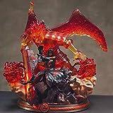 Figura de acción HZLQ Modelo Naruto tempestuoso Dios del Valor Uchiha Itachi Susanoo Estatua de Personaje de Anime Halloween-decoración del hogar