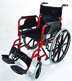 Aidapt VA167 Deluxe Greifreifen-Rollstuhl aus Stahl -