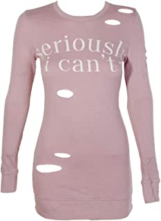 Best ripped sweatshirt dress Reviews