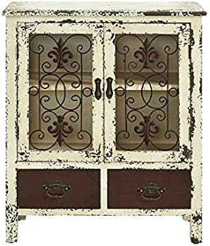 Powell Furniture 990-332 Parcel 2-Door 2-Drawer Console