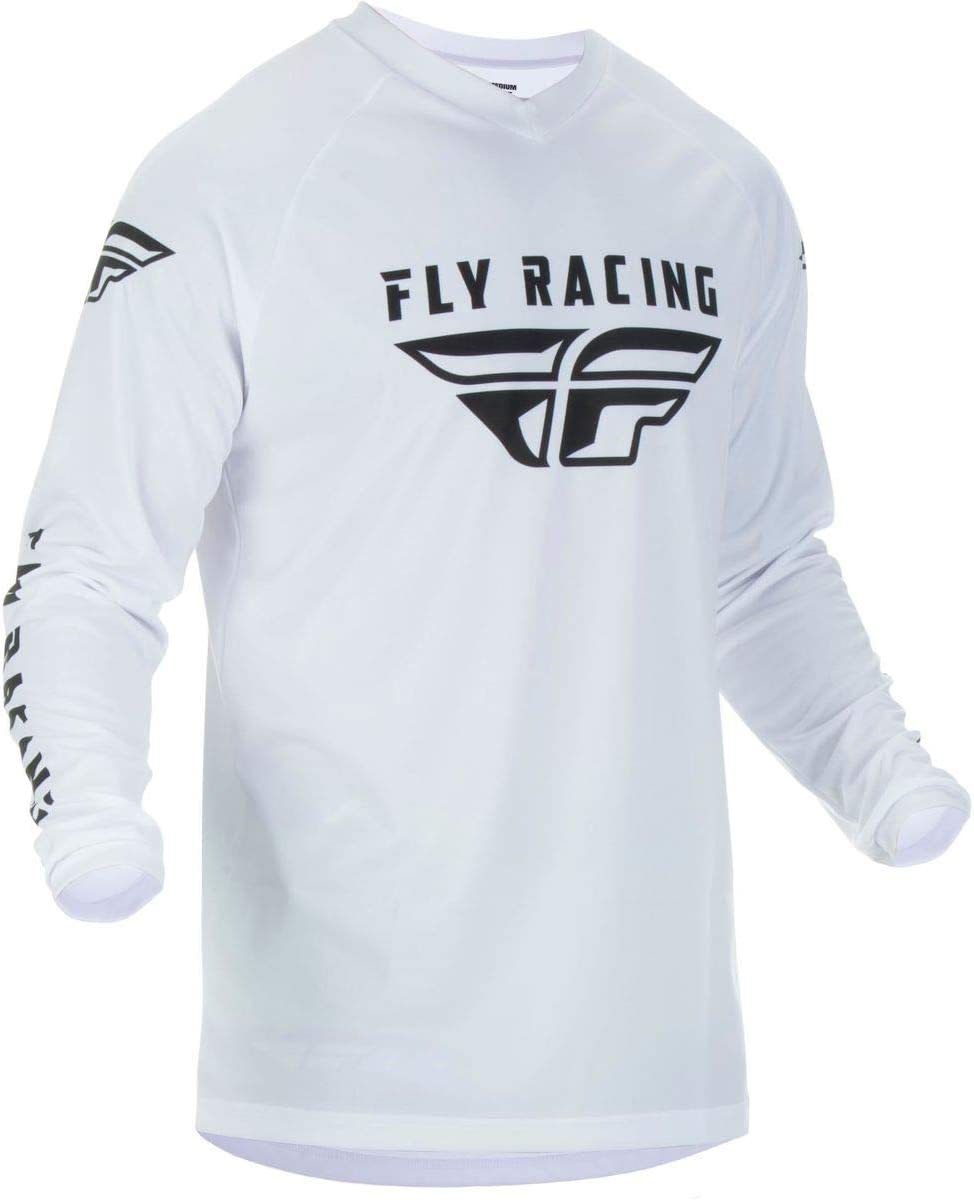 Fly Racing Universal Jersey Black White size 4X-Large
