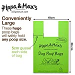 Pippa & Max Dog Poo Bags Biodegradable (300) - Extra Strong Eco Doggy Walking Poop Bags 14