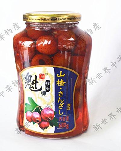 中国名物  デザート サンザシ 680g山?罐? 山?糖水罐? 中華食品 中華お菓子 中華デザート 冷凍商品との同梱はできませんのでご注意ください。