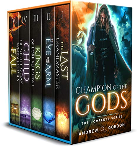 Champion of the Gods Box Set: The Complete Epic Magic Fantasy of Sword and Sorcery Series: (Champion of the Gods Omnibus: Books 1-5)