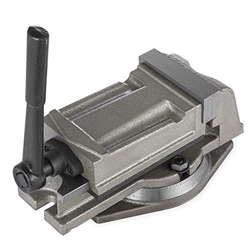 KJHD 5'Torno de Banco Moldeado Vice Swivel Base Fresado de precisión Máquina de perforación de Tornillos y Piezas de precisión Acabado