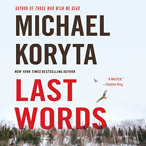Last Words audiobook cover art