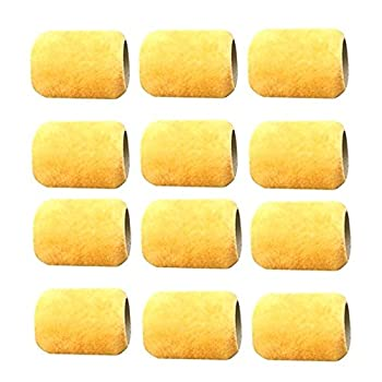12 Mini 3  ALAZCO Paint Roller Refill Covers NO SHED  for Painting Trims Edges Corners Small Areas