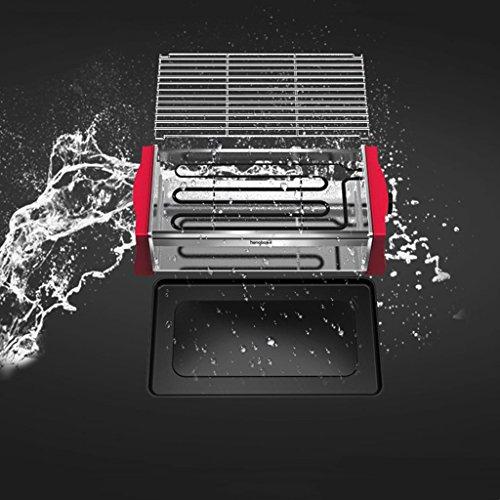 CN Cover BBQ Grill Tafel Koreaanse Barbecue Top Outdoor Elektrische Oven Thuis Tuin Rookvrije Grill Draagbaar Emaille