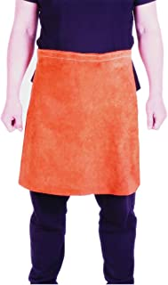 EULANGDE Premium Brown Heat Resistant Split Cowhide Leather Welding Waist Apron (24