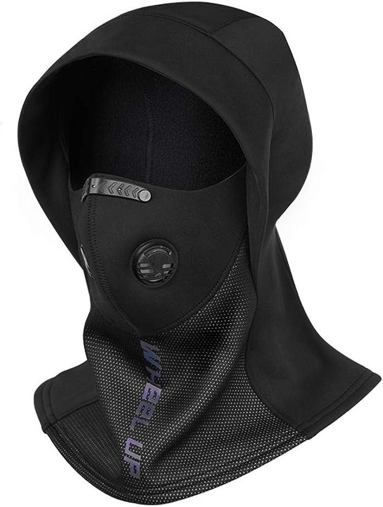 Winter Balaclava Warm Ski Mask Collar Helmet Lining Windproof Riding Cap Gray