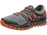 Saucony S20325-1, Zapatillas de Running para Hombre, (Gris/Najanja/Negro), 42 EU