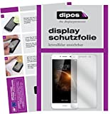 dipos I 2X Schutzfolie klar kompatibel mit Huawei Y6 II Compact Folie Bildschirmschutzfolie