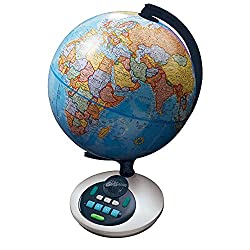 Best Kids Globes - Educational Insights GeoSafari Talking Globe Review