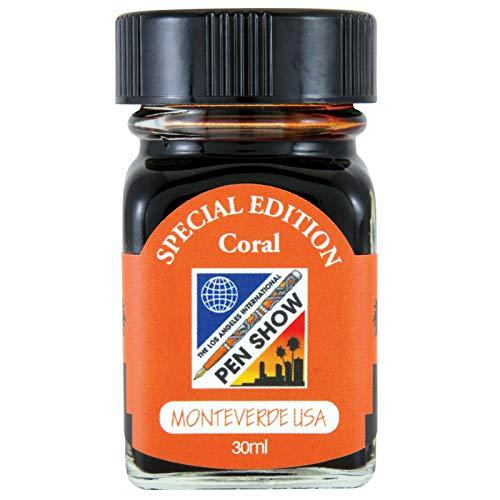 Monteverde G309LA 30 ml Fountain Pen Ink Bottle LA Pen Show 2019 Coral
