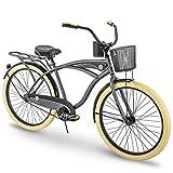 Huffy Cruiser Bike Mens, Holbrook 26 inch, Charcoal