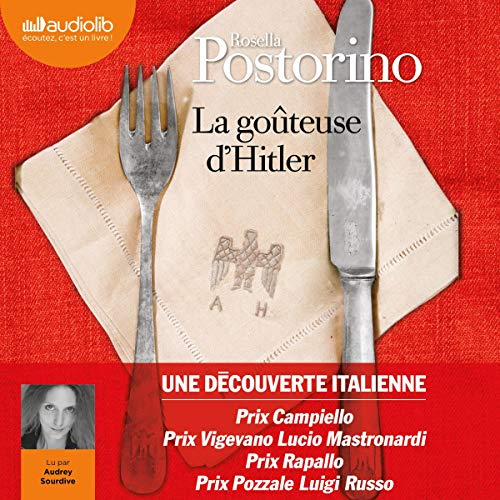 La goûteuse d'Hitler Audiobook By Rosella Postorino cover art