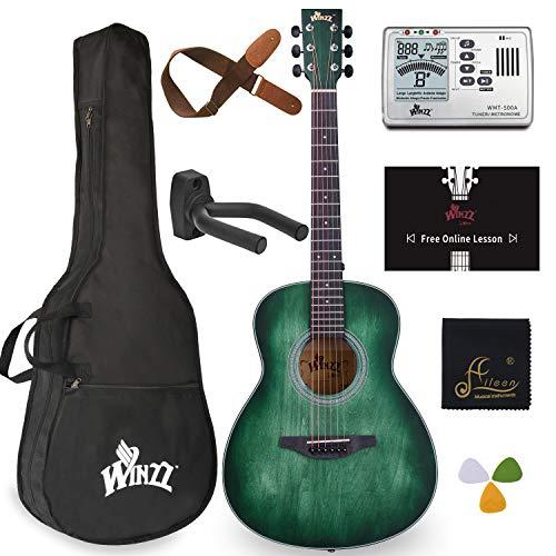 WINZZ 3/4 Dreadnought Acoustic Guitar