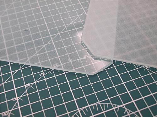 XBaofu 1set 3D-Drucker-Plattform Printing Polnisch Mat Ausgeglichenes Glasplatte Leimleder Bulldog Clip for Anet A8 / Wanhao/Monoprice 3D-Drucker (Größe : Only Glass Plate)