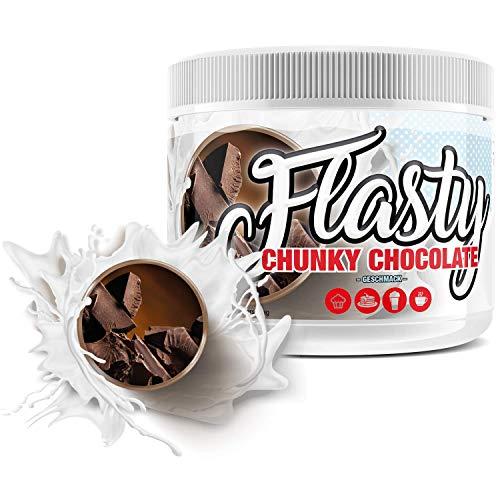 sinob Flasty Geschmackspulver (Chunky Chocolate) 1 x 250g Kalorienarmes Flavour Pulver mit 'Nur 9 kcal pro Portion' bringt es Leben in deinen Quark, Joghurt und vielem mehr.