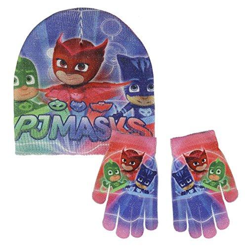 Cerdá 2200002551 Mütze, Schal & Handschuh-Set, unisex-child, Blau (Azul 001), One size (Herstellergröße: Única)