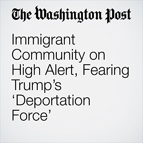 Immigrant Community on High Alert, Fearing Trump's 'Deportation Force' copertina