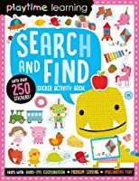 Playtime Learning Search and Find Sticker Book