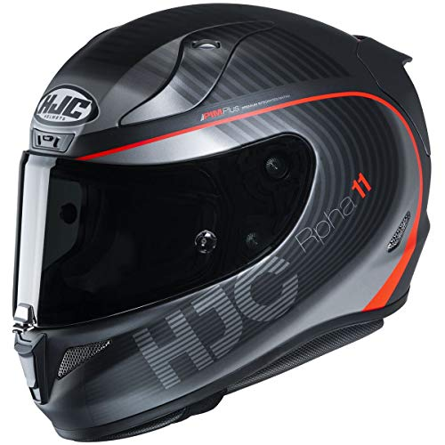 HJC RPHA 11 Pro Helmet - Bine (Medium) (Black/RED)