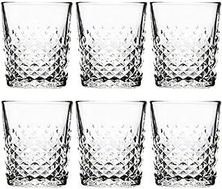 Libbey - Carats - Whiskyglas, Wasserglas Saftglas Becher - 350 ml - 6er Set