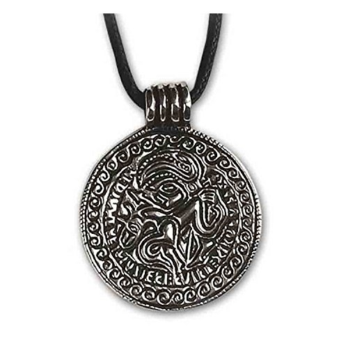etNox Anhänger Odin 925er Silber Schmuck Keltisches Schutzamulett 1018