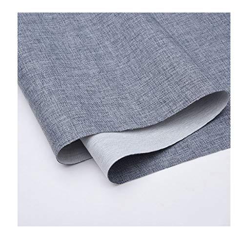 Stof van linnen, per meter, stof, linnen, katoen, eenkleurig, sofa, linnen, tafelkleed voor banken, vaste breedte, 145 cm