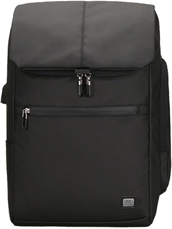DS-Reiserucksack Rucksack Business Casual Business-Tasche für Mnner Groe Kapazitt Reiserucksack koreanische Studenten-Tasche Gezeiten&& (Farbe   SCHWARZ)