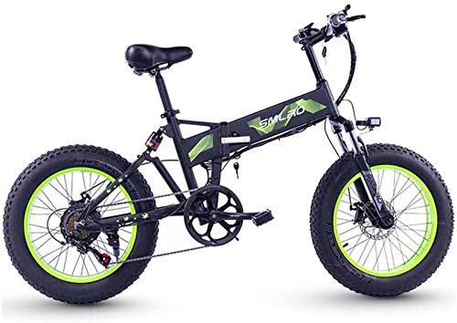 Alta velocidad Bicicletas plegables eléctricos 4.0 llantas de grasa, de aluminio de aleación de pantalla LCD de la bicicleta del amortiguador de choque de bicicletas Deportes al aire libre Ciclismo