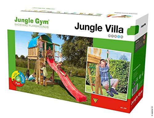 Jungle Gym Spielturm VILLA (ohne Holzpaket/Rutsche)