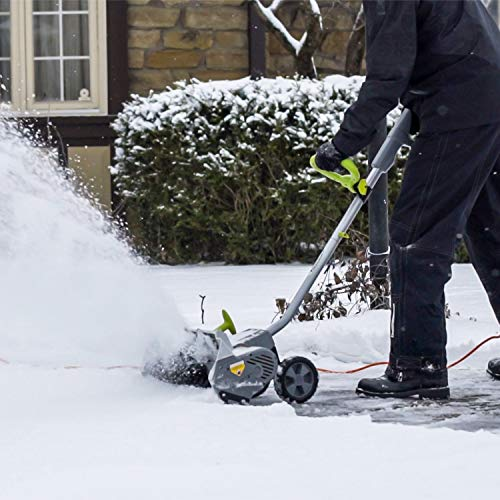 Snowy? Frosty? No problemo with an electric snow shovel 14