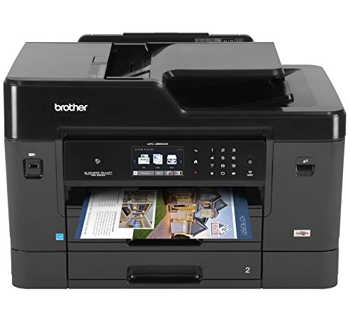 Brother MFC-J6930DW All-in-One Color Inkjet Printer, Wireless Connectivity, Duplex Printing, Amazon Dash...