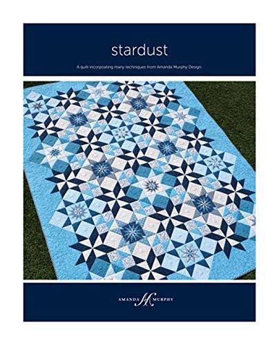 Amanda Murphy Stardust - Patrón para colcha (incluye instrucciones para dos tamaños de proyecto)