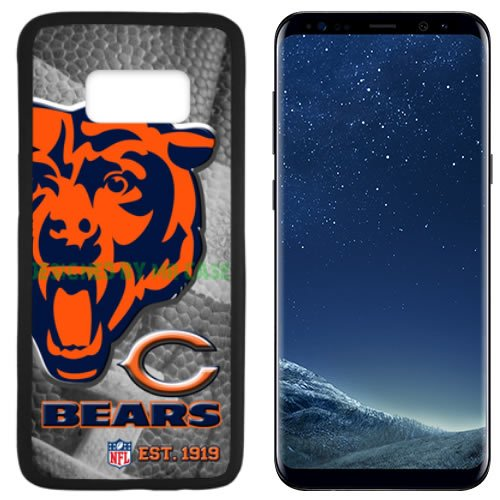 Bears Chicago Football New Black Samsung Galaxy S8 Plus Case by Mr Case