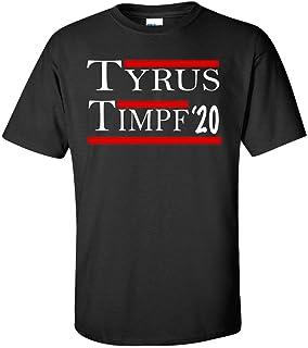 59390c3feec479 Tyrus and Timpf 2020 T Shirt. Tyrus   Timpf  20 Presidential Tee Shirt As