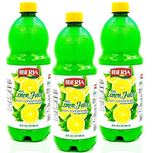 Iberia 100% Real Juice, 32 Oz Pack of 3