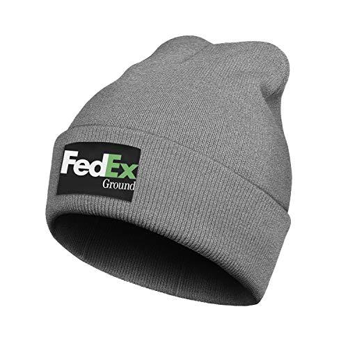 DHAKDQ Knit Beanie Hat FedEx-Ground-Express-Violet-Green-Logo-Symbol- Skull Cap Winter Toboggan Hats