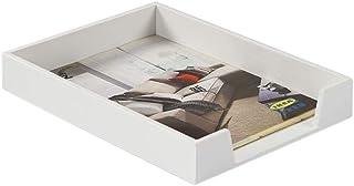 LULUDP Concentrateur USB Panier de Rangement en Bois du dépôt de Documents de Bureau Peut Taper sont surimposées boîte de ...