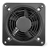 Mophorn Ventilateur D'aspiration Extracteur D'air Industriel Ventilateur Aspiration Ventilation (200mm)