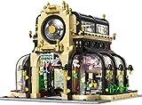 Modelo Arquitectónico, Modelo De Edificio Bloquear Conjunto De Construcción 2174 Pcs,Mini Bloques De Construcción Juguetes,3D Puzzle Juguetes Educativos, Adecuado para Niños/Adulto
